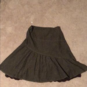 Brown skirt, size 12/H&M